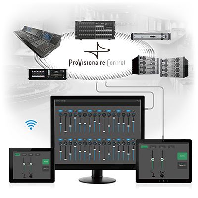Customized remote control of Yamaha PA systems