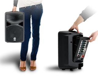 The Ultimate All-in-One Portable PA System