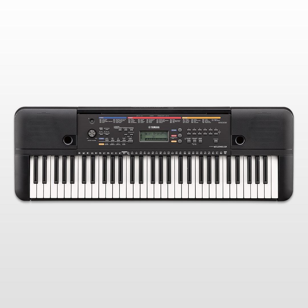 Psr e263 overzicht portable keyboards keyboards en for Yamaha a3000 keyboard