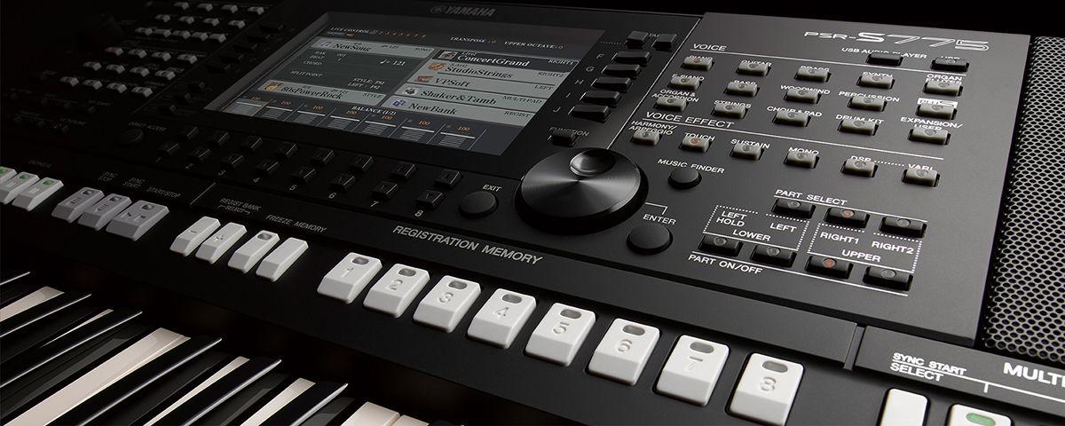 Psr S775 Overzicht Digital Workstations Keyboards En